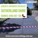 Concrete-Driveways-Specialist Sutherland Shire Council NSW