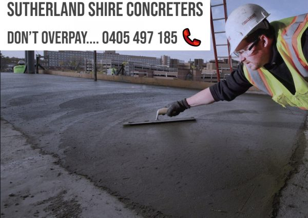 Quality Concreting In Sutherland Shire